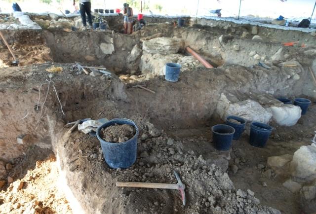 archaeology, balk, dig, squares