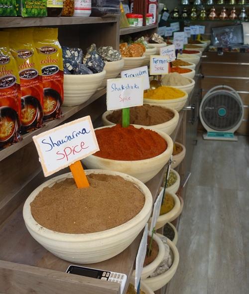 Jerusalem old quarter, spice store