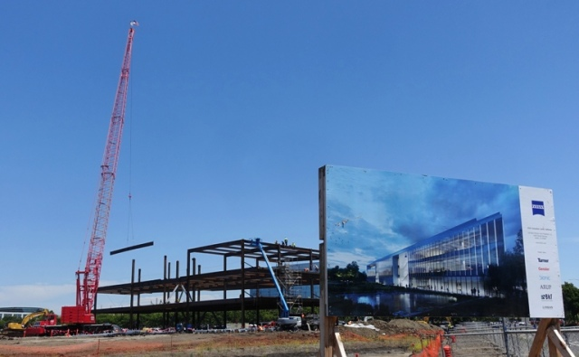 ZIC, Zeiss Innovation Center, Dublin, California, Construction, Building