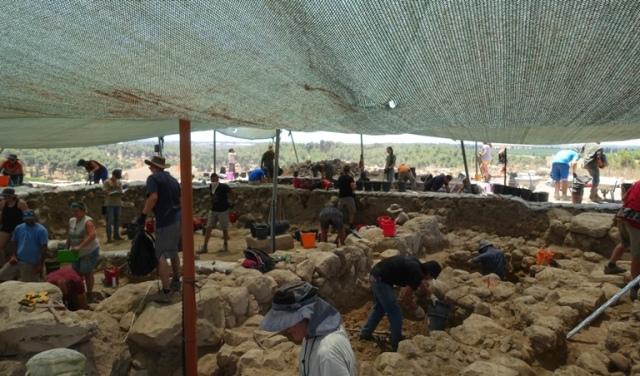 Khirbet al-Ra'i, archaeology, israel, dig