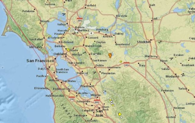 Bay Area, California, Earth Quake, Greenville Fault