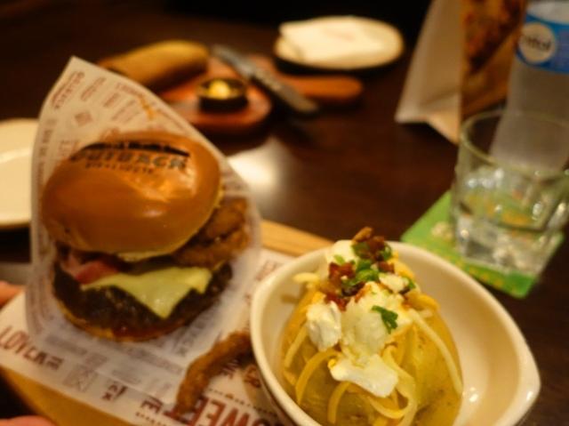 Out back Burger, brazil Out Back, hamburger, meal, food