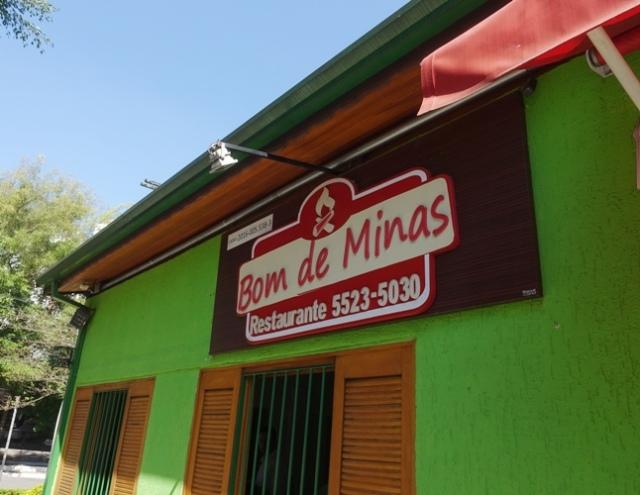Bom de Minas, restaurant, Sao Paulo, Brazil, lunch