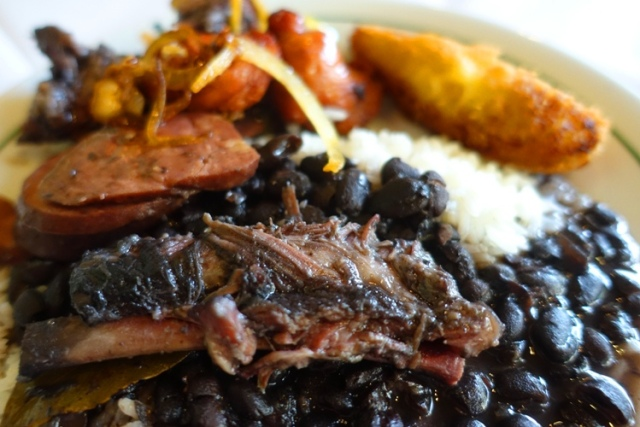 feijoada, beans and rice, Brazilian Stew, comfort food