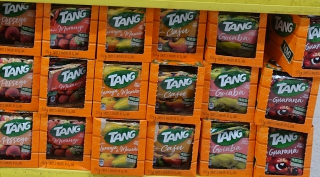 tang, brazil, powdered drink mix, astronauts, flavors