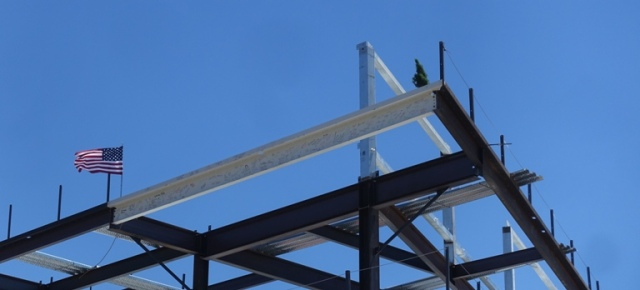Zeiss Innovation Center, Dublin, California, Construction, Topping out