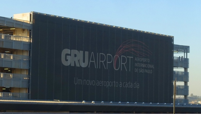 GRU Airport, Brazil, Sao Paulo, airports, flights