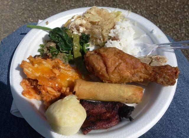 Birthday Party, Picnic, 50th Birthday, food, fun, cake, Filipino food