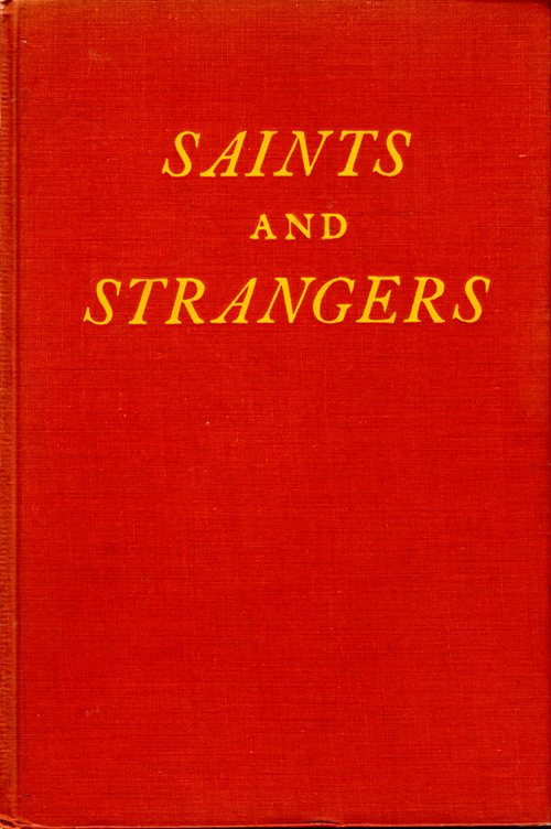 Saints and Strangers, Pilgrims, Plymount, Colonial America, George F. Willison