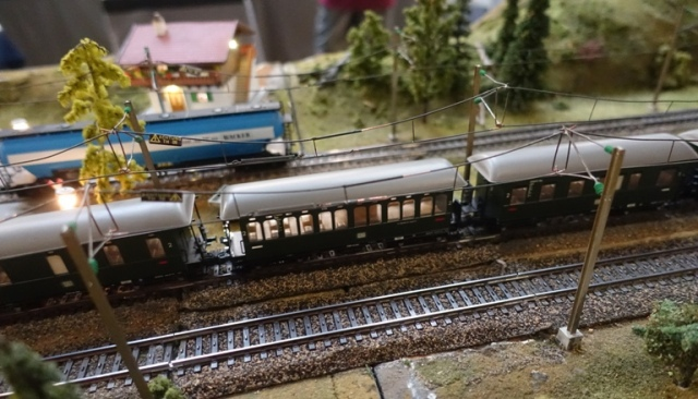 Tracy Museum, Model Train Layout, Modules, ETE, European Train Enthusiasts