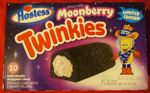 Hostess, Moonberry Twinkies, Limited Edition Flavors, snack food
