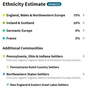 Ancestry DNA, Ethnicity Update, European DNA