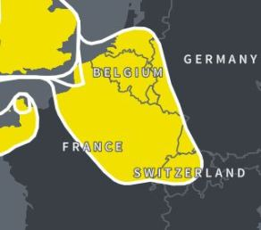 Ancestry DNA, Northwest Europe, Amish DNA