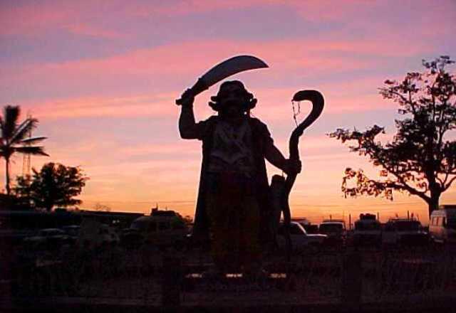 Chamundi Hills, Mahishasura, Mysore, Sunset, Demon