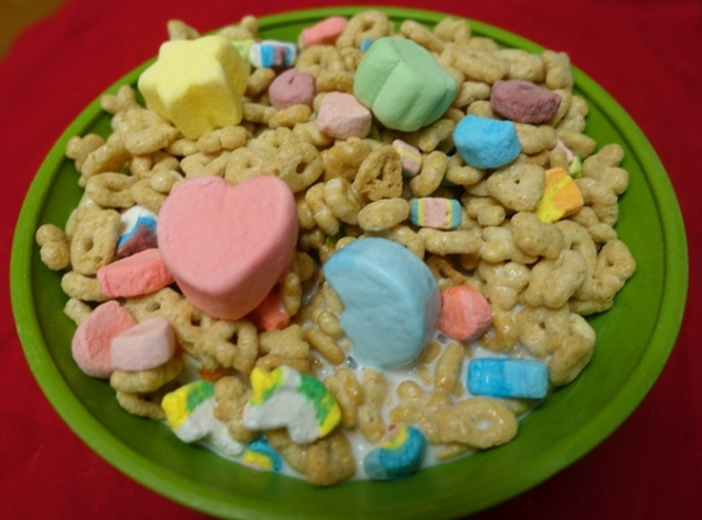 Jet Puffed, Kraft, Marshmallows, Lucky Charms