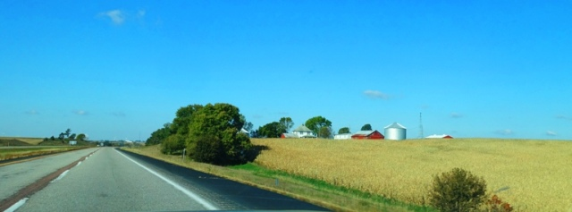 iowa farm, I-80, Interstate, farmland