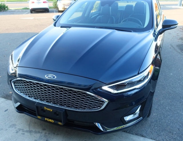 New Car, Ford Fusion, Plug-in hybrid, Blue Car, Bluey