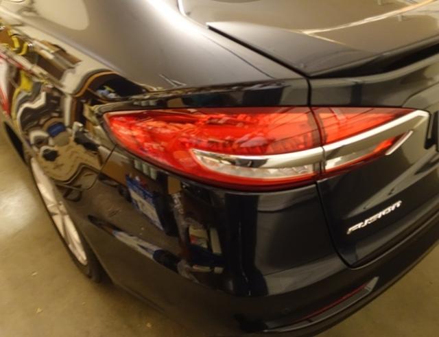 New Car, Ford Fusion, Plug-in hybrid, Blue Car, Bluey