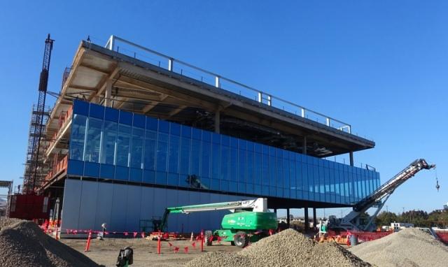 Carl Zeiss Innovation Center, Dublin, California, Construction progress