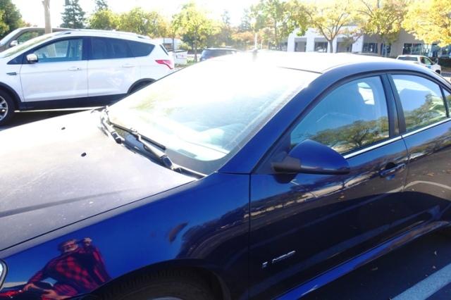 Old Blue, Car, parking lot, last pictures