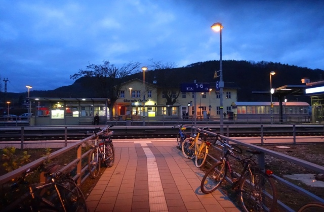 Goschwitz Station, Germany, Jena, German Railway