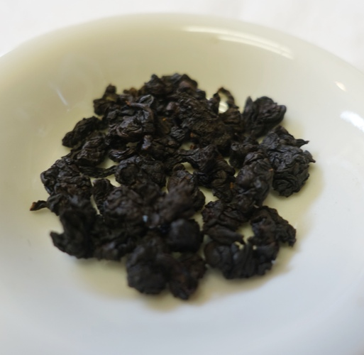 Iron Goddess, Tea, Oolong tea, tea leaves