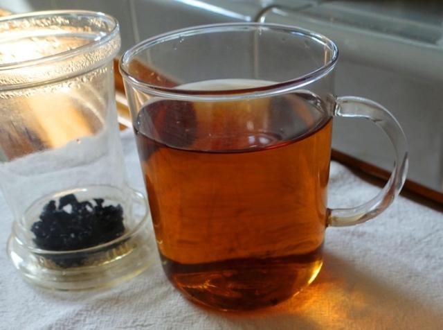 Tieguanyin, red brown tea, oolong tea, Taiwan tea, heavily roasted tea