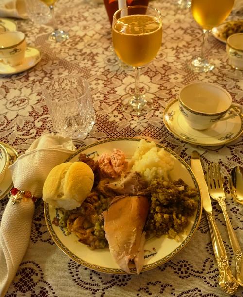 Thanksgiving Plate, Thanksgiving Feast
