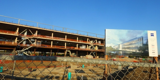 Zeiss Innovation Center, Construction progress, building, dublin, california