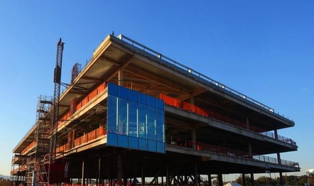 Zeiss Innovation Center, Dublin, California, Construction