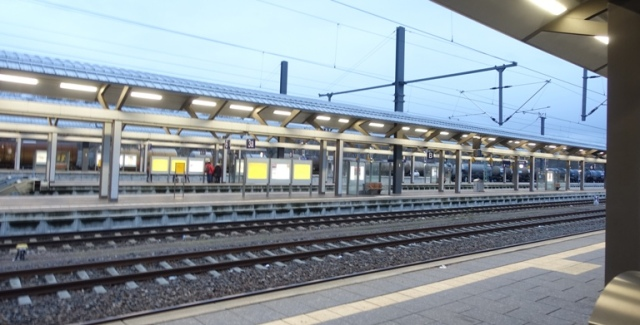erfurt germany, train station