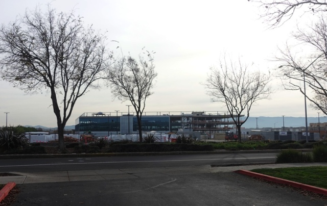 Saturday Walk, Carl Zeiss Innovation Center, Dublin, California, Construction