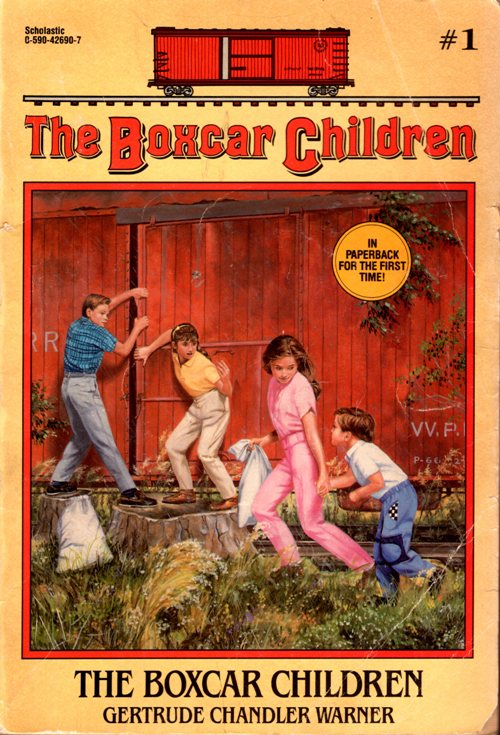 Boxcar children, children's books, series, reading