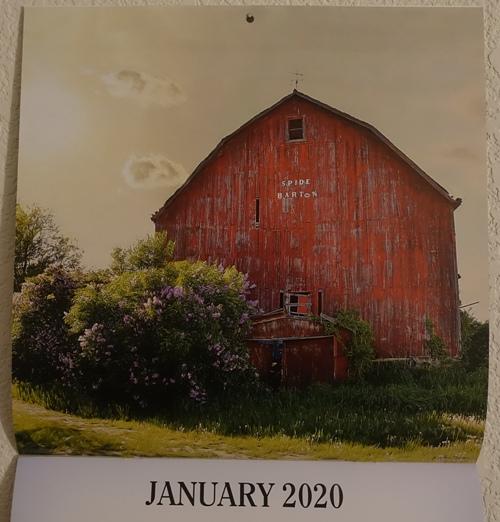 Barn Calendar, calendars, 2020 calendar