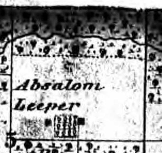 Henry County Iowa, Trenton Township, Absalom Leeper, Iowa, ancestor