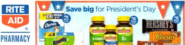 rite aid presidents day ad
