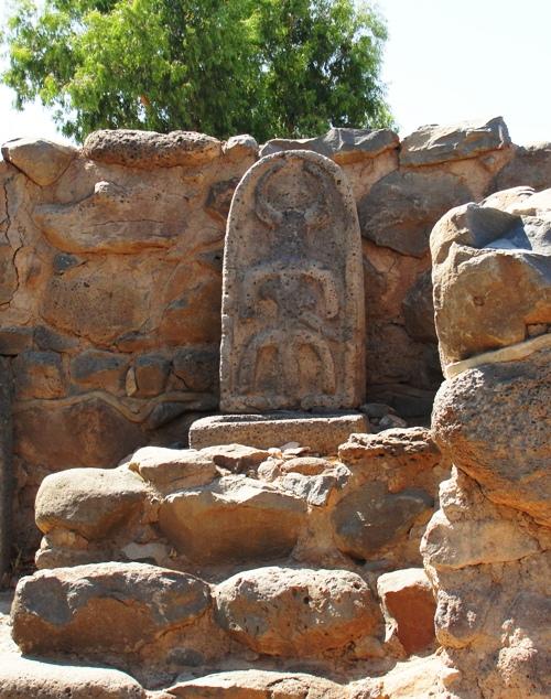 geshur gate idol, et tel, galilee, sea of galilee
