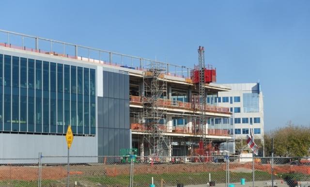 ZIC, Zeiss Innovation Center, Dublin, California, Construction