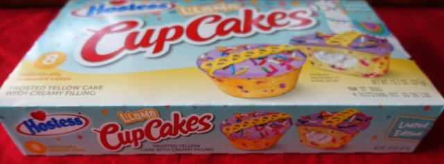 limited edition cupcakes, hostess cupcakes, llamas, andean culture