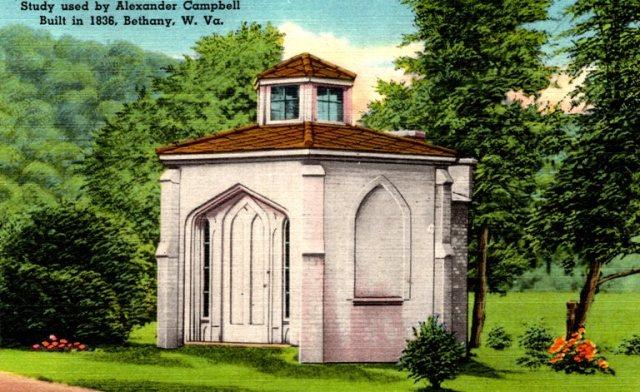 Alexander Campbell Study, Bethany West Virginia, Restoration Movement
