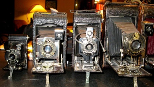cameras, bellows cameras, old cameras