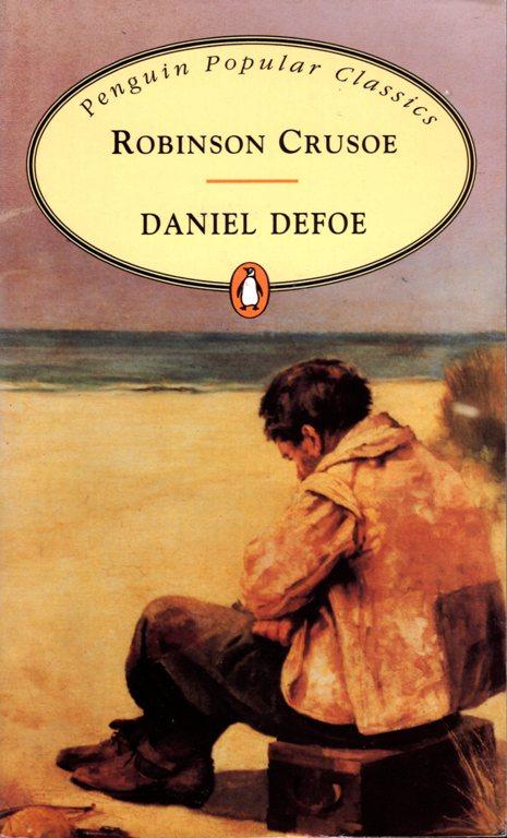Robinson Crusoe, Daniel Defoe, Covid-19 Cover Story