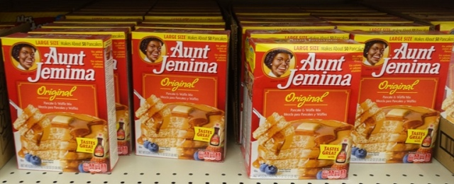 Aunt Jemima pancackes, grocery, gone away products