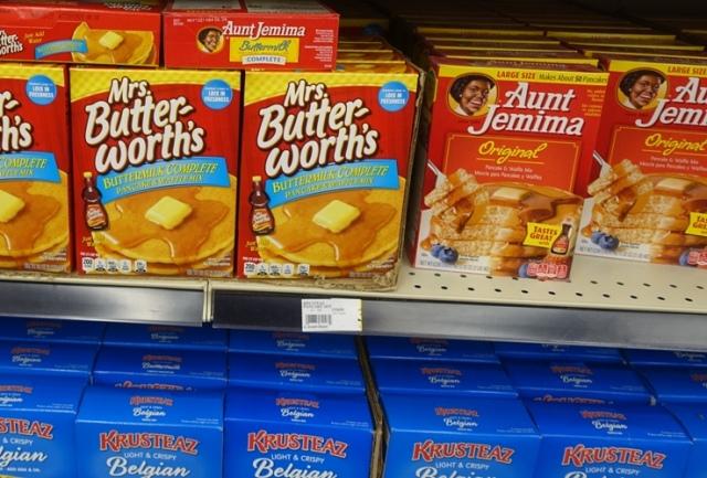 Pancake brands, Aunt Jemima, Butterworths