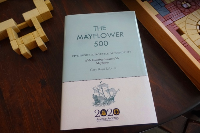 Mayflower 500, Gary Boyd Roberts, Mayflower, genealogy