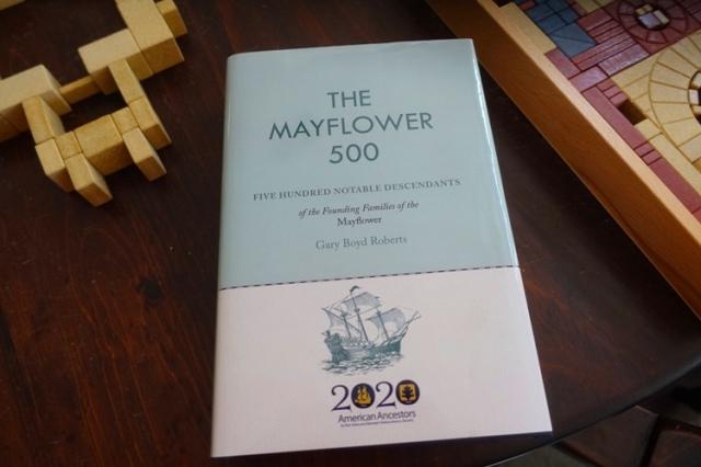Mayflower 500, Gary Boyd Roberts, Mayflower, genealogy