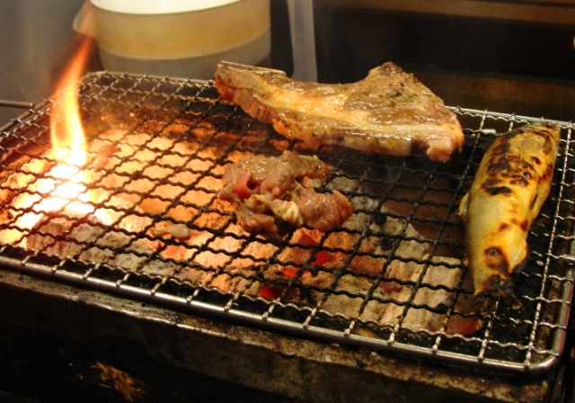 bbq, grill, fish, seafood, Taipei, Taiwan, food