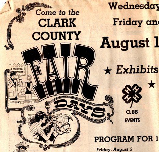 Clark County Fair, Ashland, Kansas, county fair, 4-H