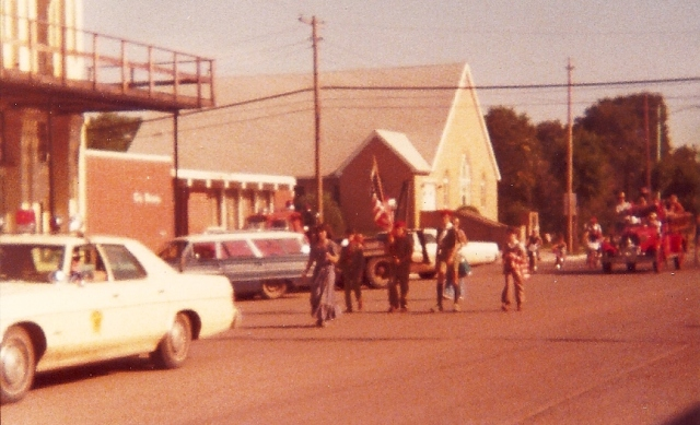 Ashland, Kansas, parade, 4th of July