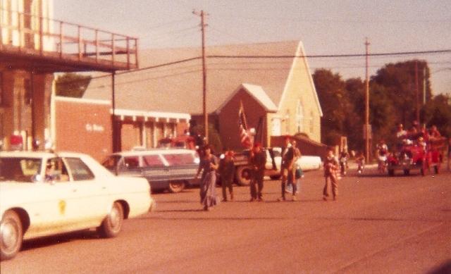 Ashland, Kansas, parade, 4th of July